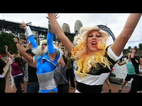 150 dancers surprised sightseers on Sydney Harbour with a Dance-Off Flash Mob on Saturday May 1st. Organised by DJ Dan Murphy with two dance troupes led by A...