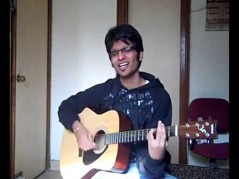 Mere Bina (Tujhko jo paya) unplugged guitar cover with chords...