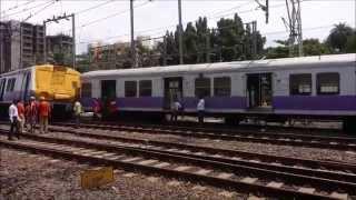 Virar Churchgate Fast Train derailed