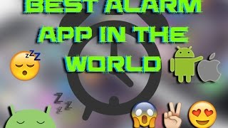 Best app in the world |⏰ wake up early in the morning| BEST ALARM APP IN THE world 🌎