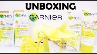 Garnier Light Complete White Speed Series Unboxing