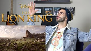 The Lion King 2019 Trailer REACTION! | MY BIG PREDICTION!