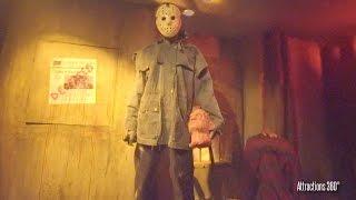 Freddy VS Jason Maze - Halloween Horror Nights 2016 - Hollywood