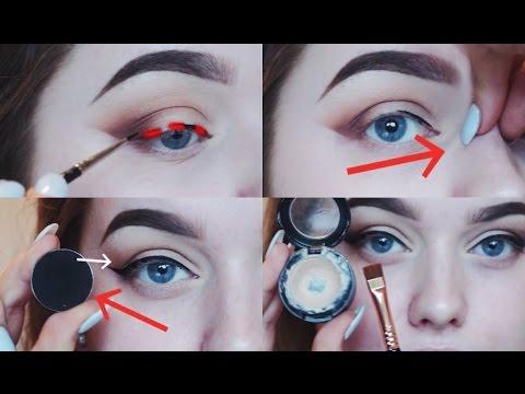 Wing eye makeup