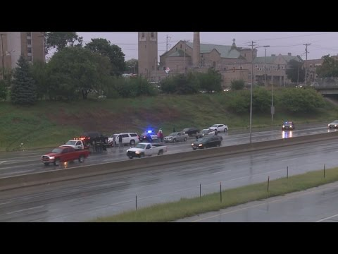 Driver hurt in I-480 accident