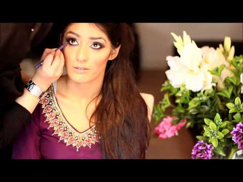Asian bridal makeup Nikaah look