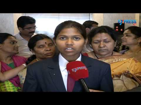 Purna Youngest Girl who Scaled Mt. Everest at Women's Day Celebrations | Express TV