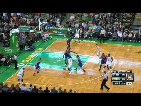 Samuel Dalembert Highlights Knicks vs. Celtics 12.12.2014 - 6 Points, 5 Rebounds