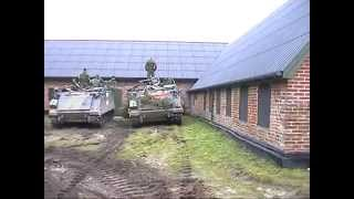 Manöver Det Danske Forsvar Dänische Streitkräfte Übungsplatz Oksbol Blavand 2003 Teil 2