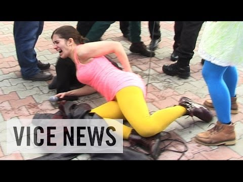 Pussy Riot Gets Whipped in Sochi thumbnail