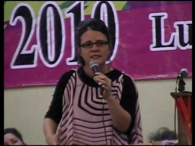 Iglesia Pentecostal UPCI Predica: Hna. Tere de la Rosa