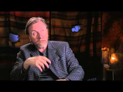 """The Hateful Eight: Tim Roth """"Oswaldo Mobray"""" Behind the Scenes Movie Interview"""