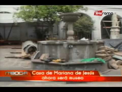 Casa de Mariana de Jesús ahora será museo