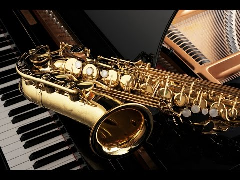 Cafe Restaurant- Jazz piano saxophone instrumental