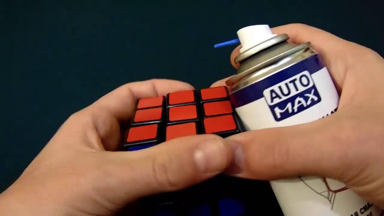 Чем смазать кубик рубик в домашних условиях 368