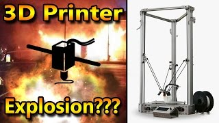 Can a 3D Printer really explode and kill you?