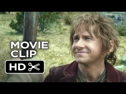 The Hobbit: The Desolation Of Smaug Movie CLIP - Courage (2013) - Peter Jackson Movie HD