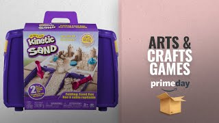 Save Big On Arts & Crafts Games | Prime Day 2018: Kinetic Sand Folding Sand Box with 2lbs of Sand