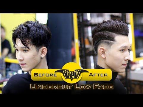 Tóc Nam đẹp Nhất Năm 2017| Undercut Low Fade | Phong BvB
