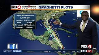 Tracking the Tropics: Watching a tropical wave in Western Caribbean