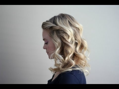 Curls Using 2 Different Curling Irons Youtube