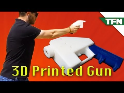The 3D-Printed Gun is Here to Stay