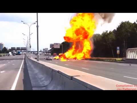 Hazmat Highway to Hell with High Pressure Gas Cylinders No Music