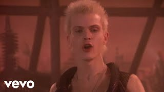 Watch Billy Idol Dancing With Myself video