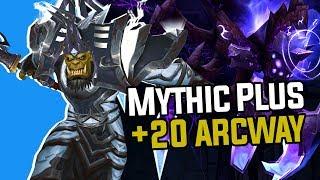 Mythic Plus Legion Dungeon: +20 Arcway (Top 10 in World) - Hogman