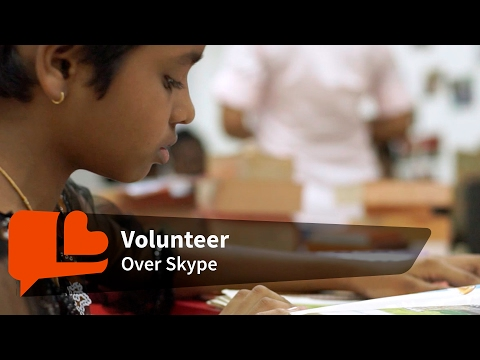 Skype these kids to help them read