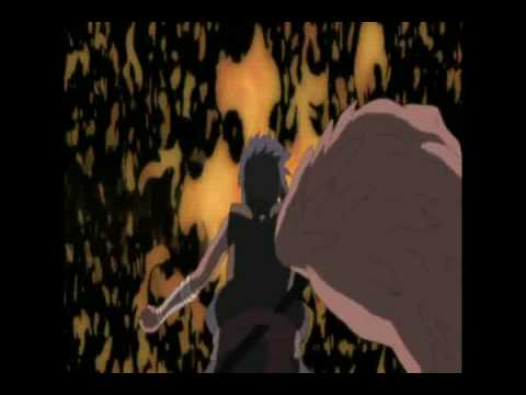 Sasuke vs Itachi Amaterasu battle