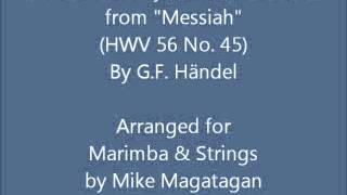 34 I Know That My Redeemer Liveth 34 Hwv 56 No 45 For Marimba Strings