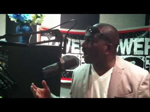 Clifton Powell On With The Rise & Grind Morning Show