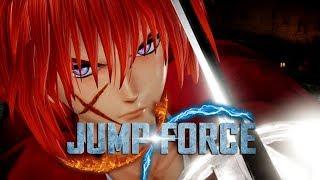 JUMP FORCE - Tem até SAMURAI X e o BARBA NEGRA nesse jogo