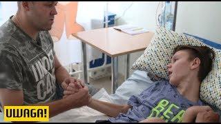 13-latek ma ciężkie uszkodzenie mózgu. Lekarz uznał, że symuluje (UWAGA! TVN)