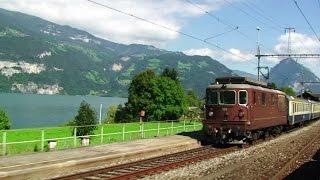 Swiss Railways - Golden Pass Train - Interlaken to Zweisimmen