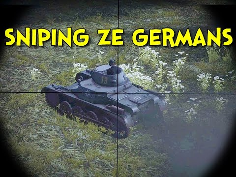 SNIPING ZE GERMANS! - Heroes and Generals