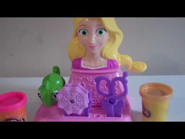 Play-Doh Disney Princess Rapunzel Hair Designs PlaySet Play-Doh Toy