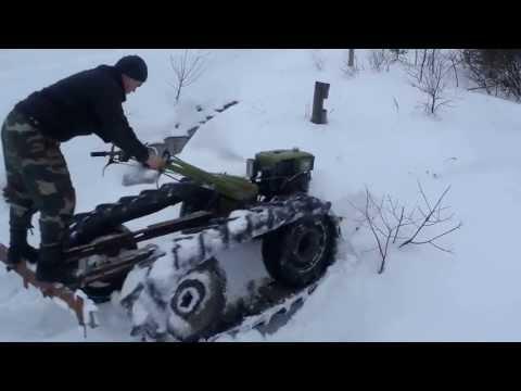 трактор з мотоблока 12к с