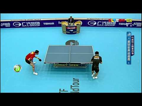 2015 Kuwait Open Ms-SF1: XU Xin - ZHANG Jike [HD] [Full Match/Chinese]