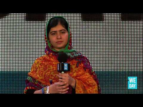 Malala Yousafzai at We Day UK