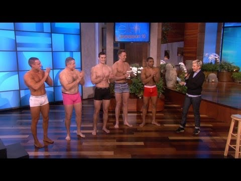 The Underwear Model Finale Catwalk!