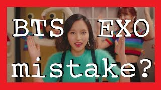 Download Lagu MISTAKES IN KPOP MUSIC VIDEOS (BTS, TWICE, EXO & more) Gratis STAFABAND