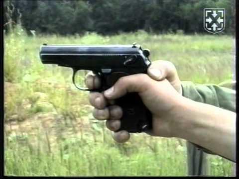 Обучение правильному нажатию на спусковой крючок пистолета. ПМ