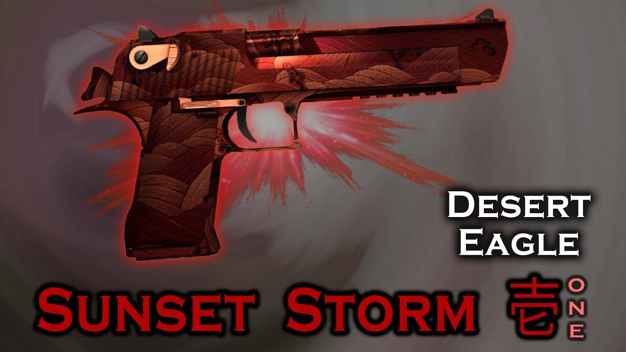 Desert Storm Sunset Storm 壱 Desert Eagle