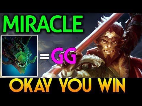 Miracle- Dota 2 [Monkey King] vs Viper - Okay you win
