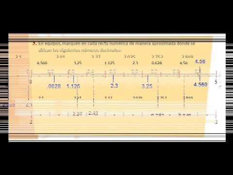Matematicas de Sexto Paginas 15 16 y 17 - YouTube