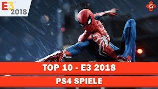 Die zehn besten PS4-Spiele der E3 2018    Top 10