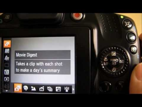 Canon Powershot SX40 HS Tutorial: Step Four - Scene Mode