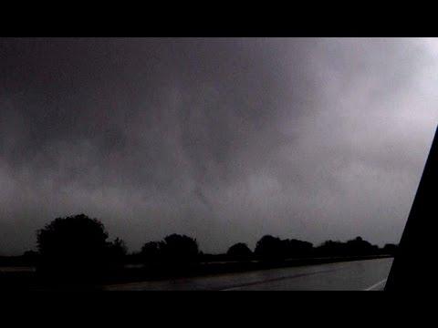 EF1 Tornado at New Baden, IL - October 13, 2014